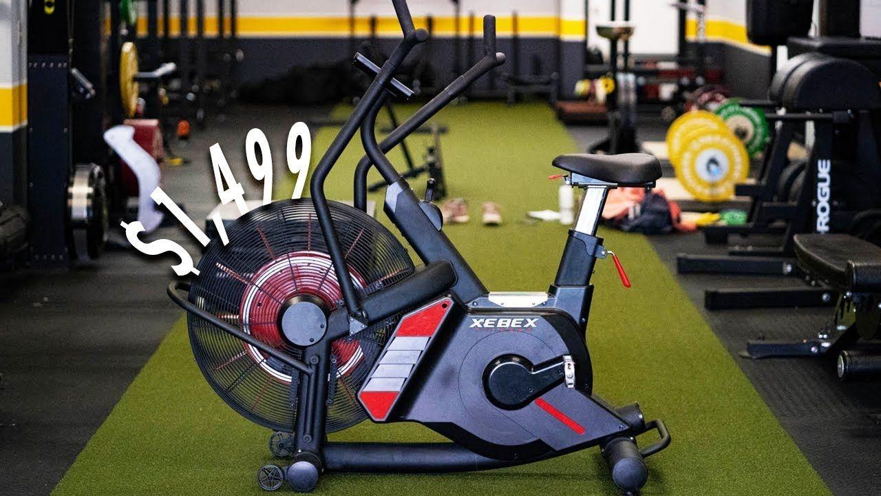 This Air Bike Costs 1 499 Youtube Bike Home Gym Garage Gym
