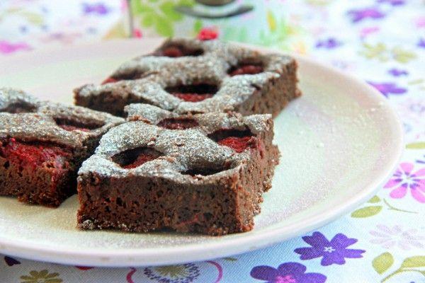 Brownie s ovocím - Mňamky-Recepty.sk