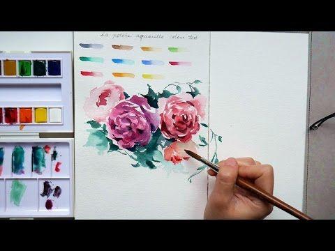 Doodling With Sennelier La Petite Aquarelle Youtube Roze