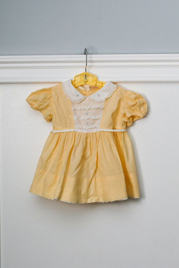 Nanette Guaranteed to Wash and Wear Babe Frock 12 MO