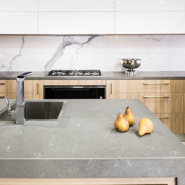 CORFIELD Urban Ravine Kitchen With Polytec Natural Oak