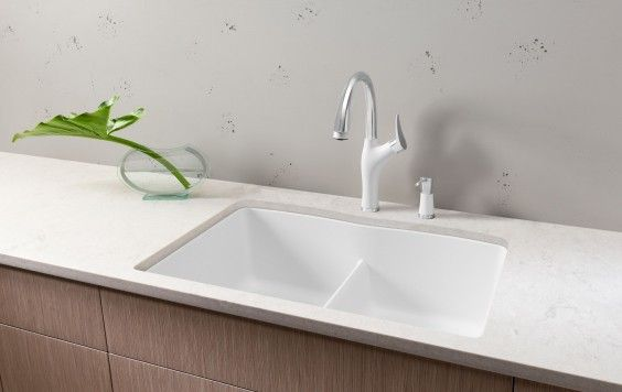 Blanco Diamond Equal Double Bowl With Low Divide White Sink Kitchen Style Granite Composite