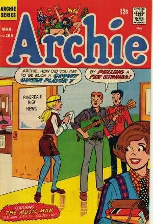 I remember getting my hands on some Archie comic books when I was a kid.  I loved looking at them.  I was pre-teen and Betty and Veronica fascinated me, LOL!