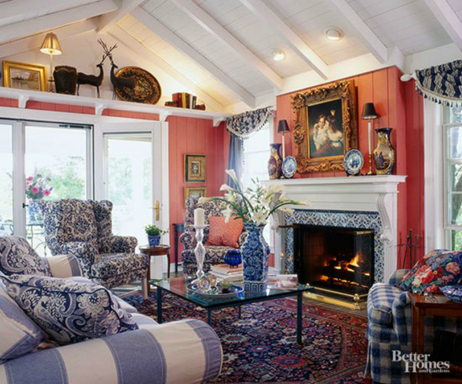 English Country Living Room ~ Happy With Glory | Country ...
