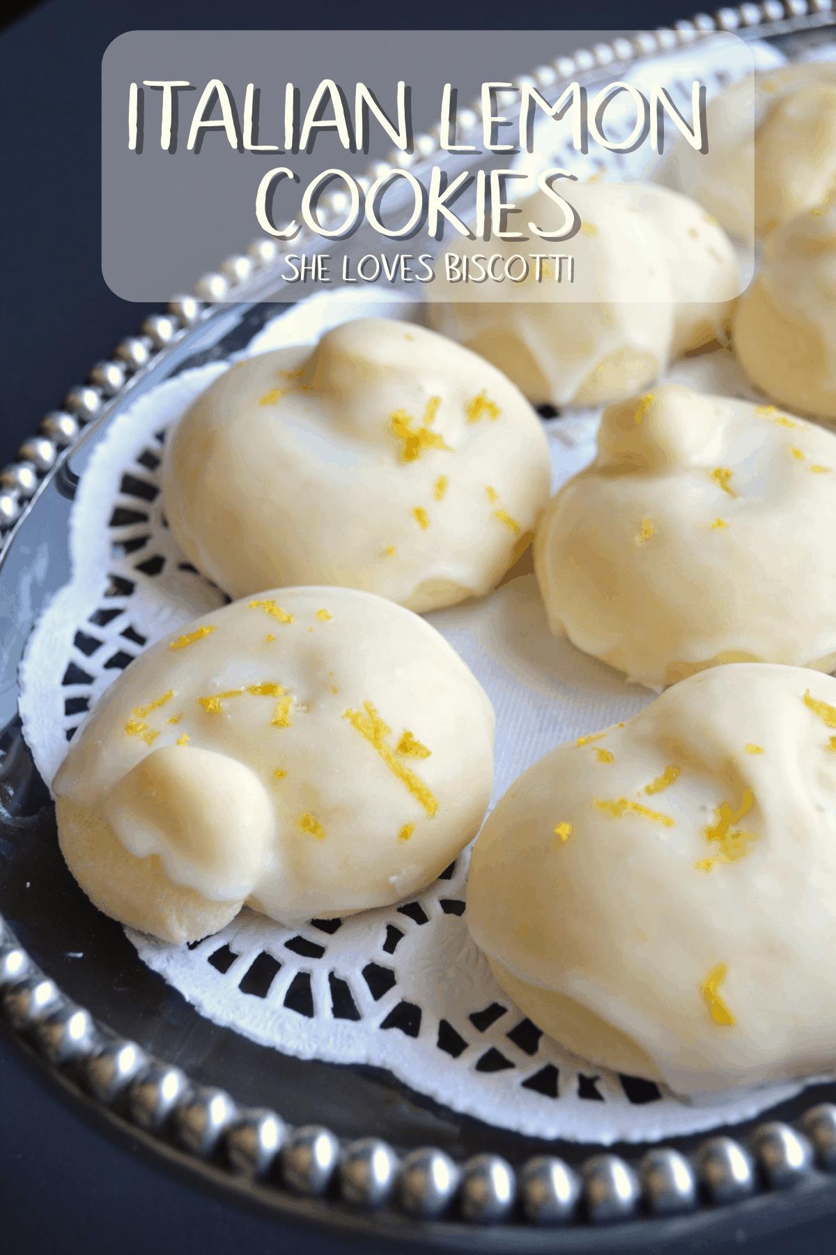 Italian Lemon Knot Cookies: Tarallucci