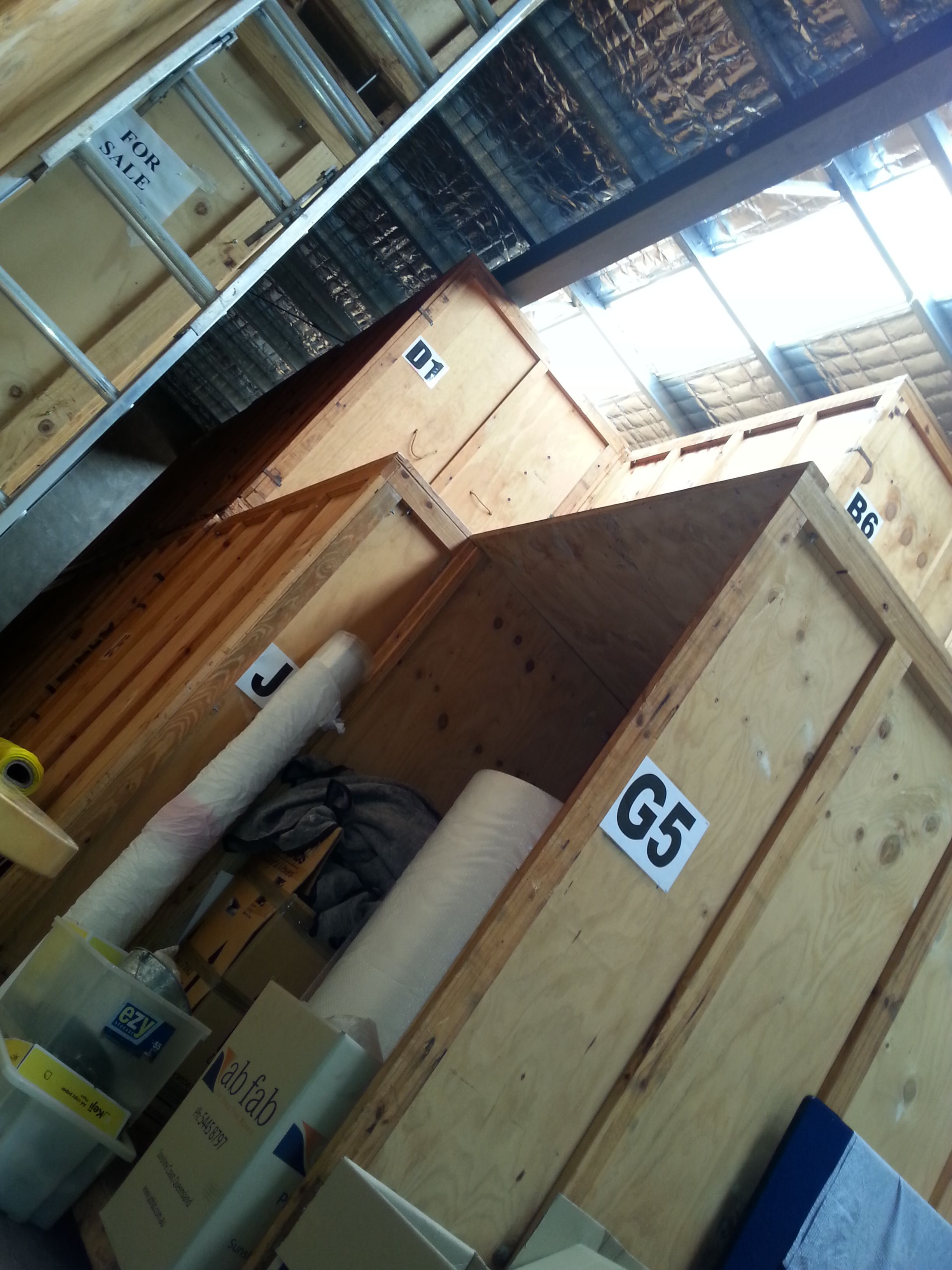 We have our own on-site storage facility for long or short term use during your moving process.