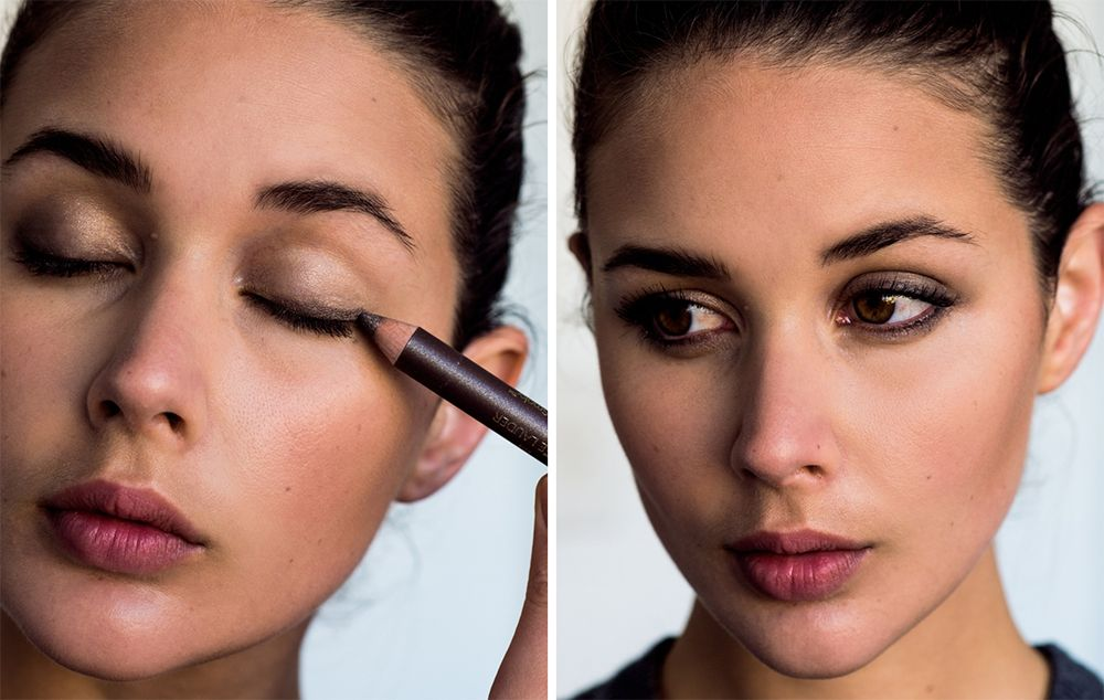 if you havent figured out what makeup to wear when saying goodbye to 2015 and welcoming 2016 wed suggest you do this gorgeous classic smoky eye