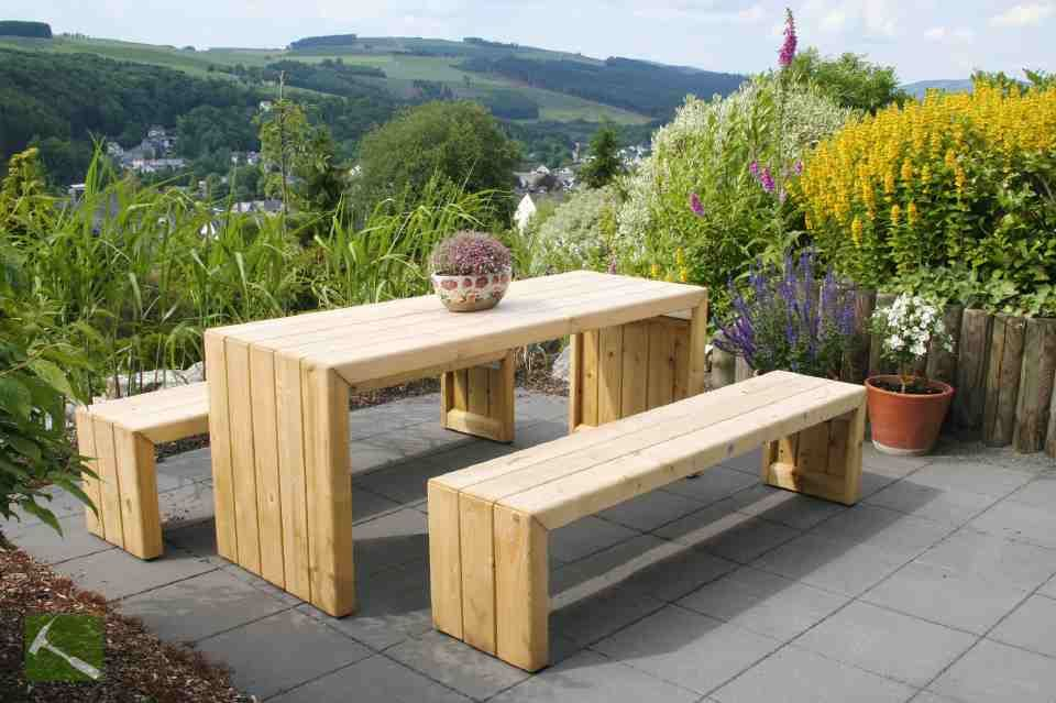 Terrassenmöbel Holz Massiv Modern | ambiznes.com