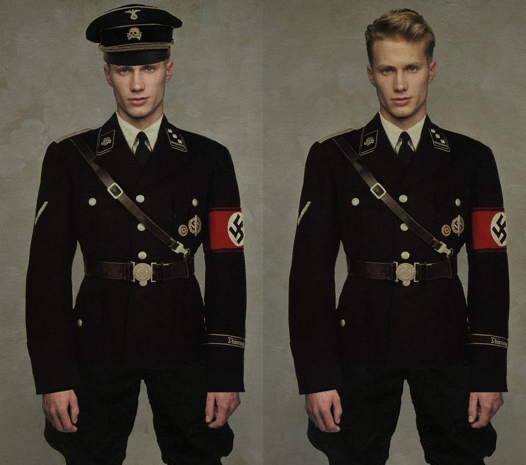 ss vs Wehrmacht Uniform This is a Nazi ss Uniform