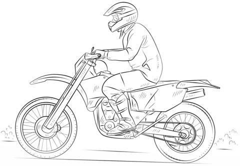 Disegni Difficilissimi Da Colorare E Stampare Disegno Di Moto Da Cross Da Colorare Disegni Da Colorare E Nel 2020 Disegno Di Bicicletta Tutorial Di Disegno Disegni