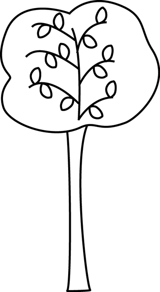 clip art black and white black and white autumn tree clip art