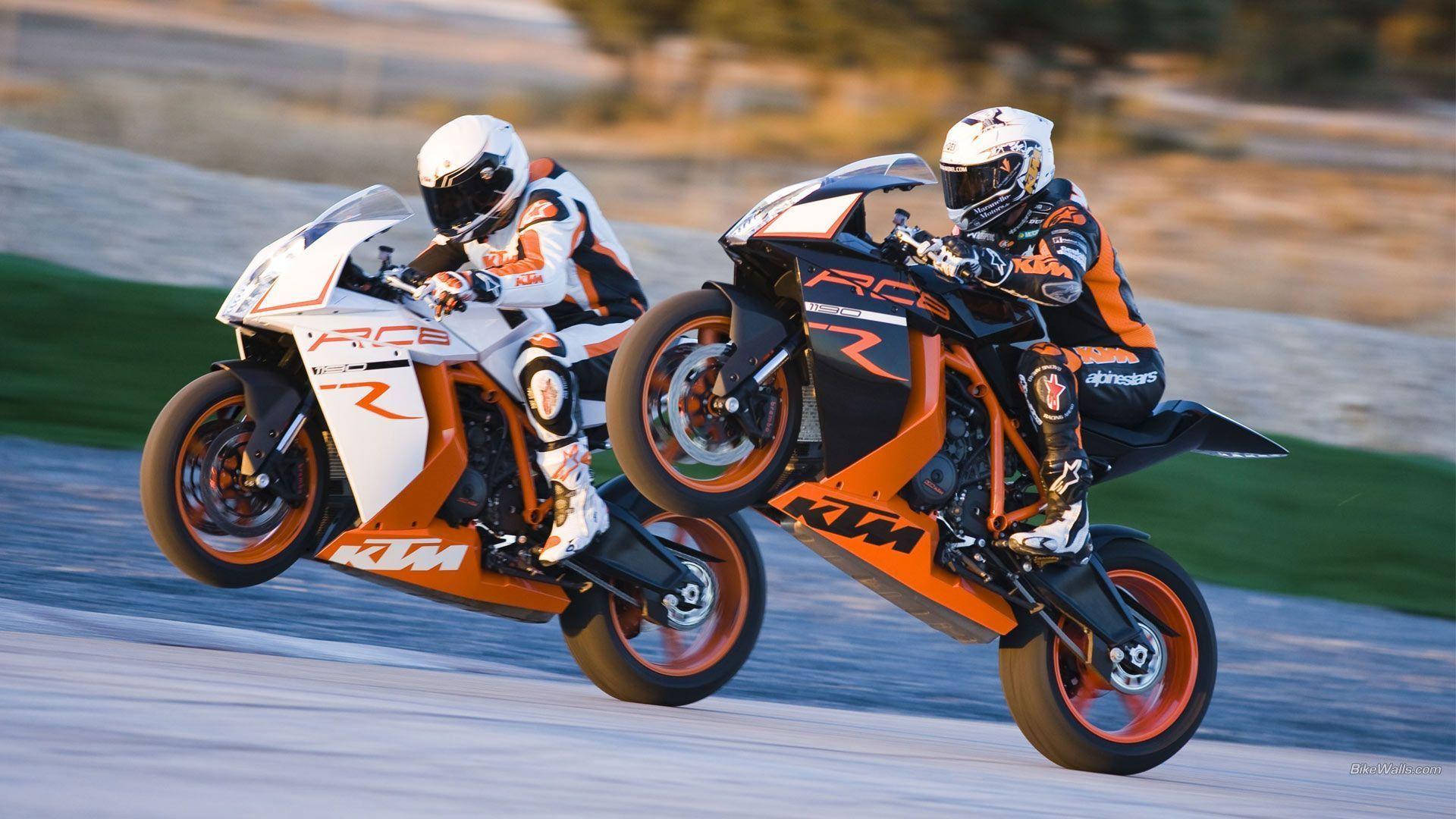 Обои KTM RC8, Мотоцикл, супербайк. Мотоциклы foto 12
