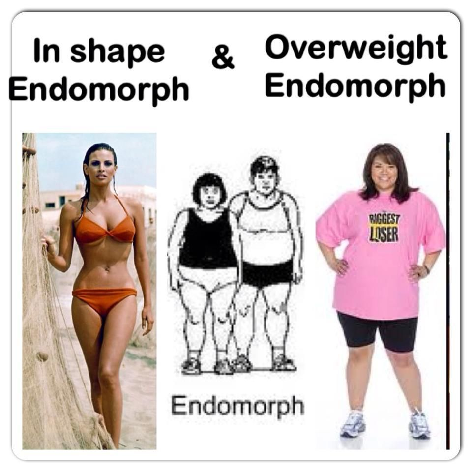 Endomorph woman