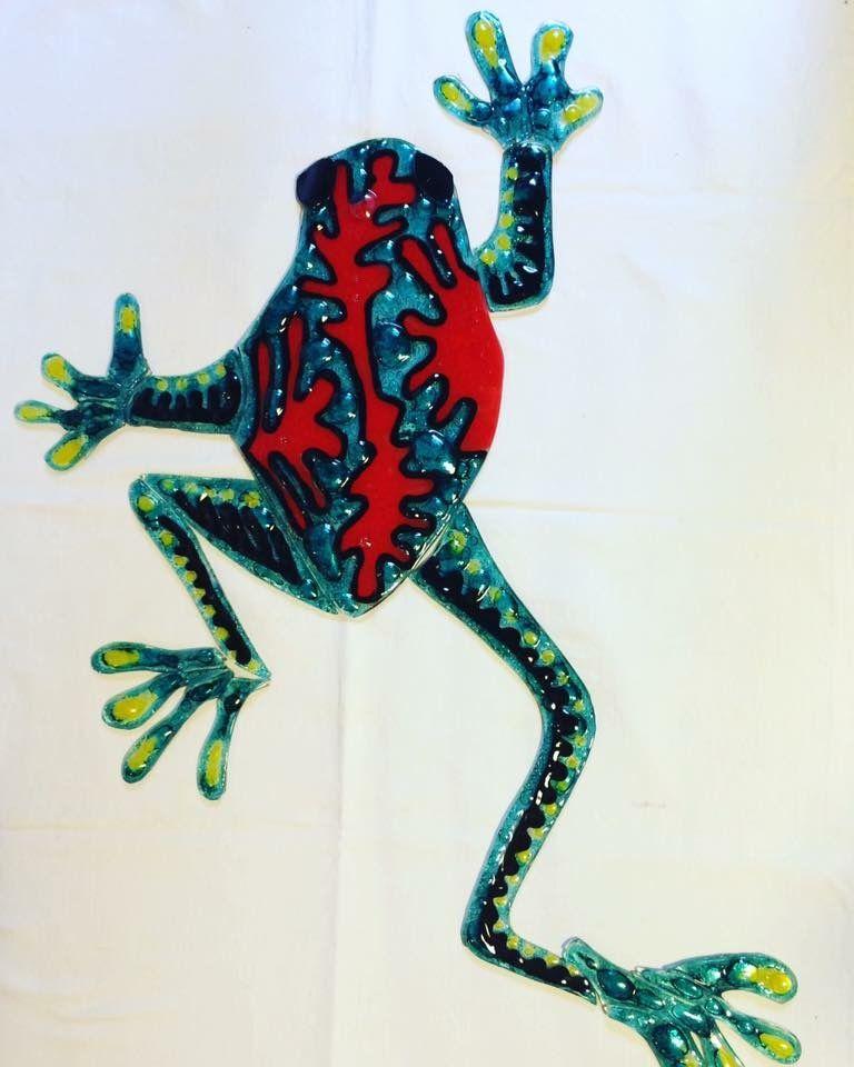 Animales #Rana #Arte #Decoración #Diseño #Colores #Vidrio ...