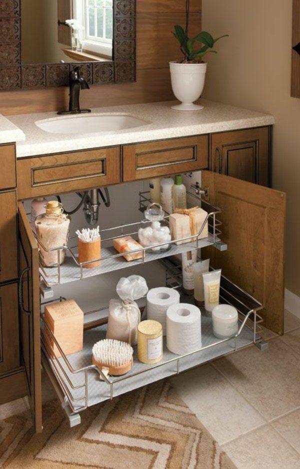 badezimmer waschbecken schrank pflanze spiegel Ванная комната - pflanzen für badezimmer