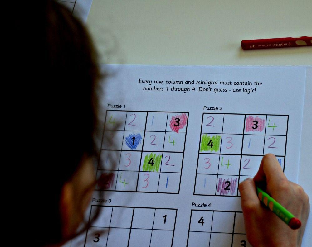 Sudoku for kids from Activity Village | Activity Village Activities ...