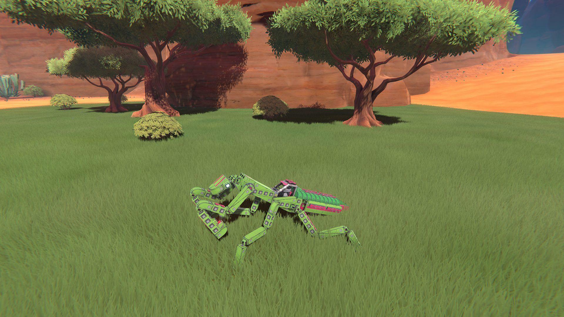 A praying mantis I made in Trailmakers,#praying#mantis