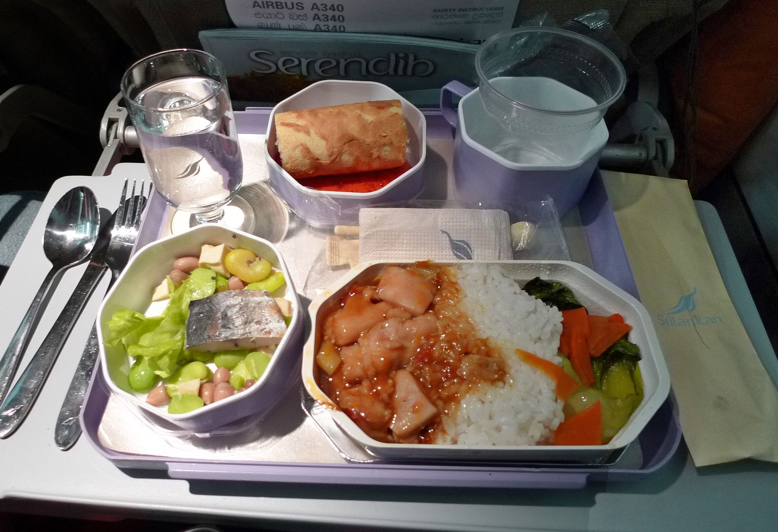 Sri Lanka Airline Meal Air Lines Pinterest Airline