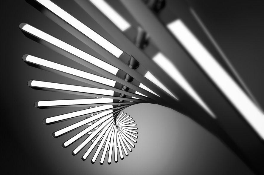 Rhythm Vertical For Vibia Arik Levy Studio The Light