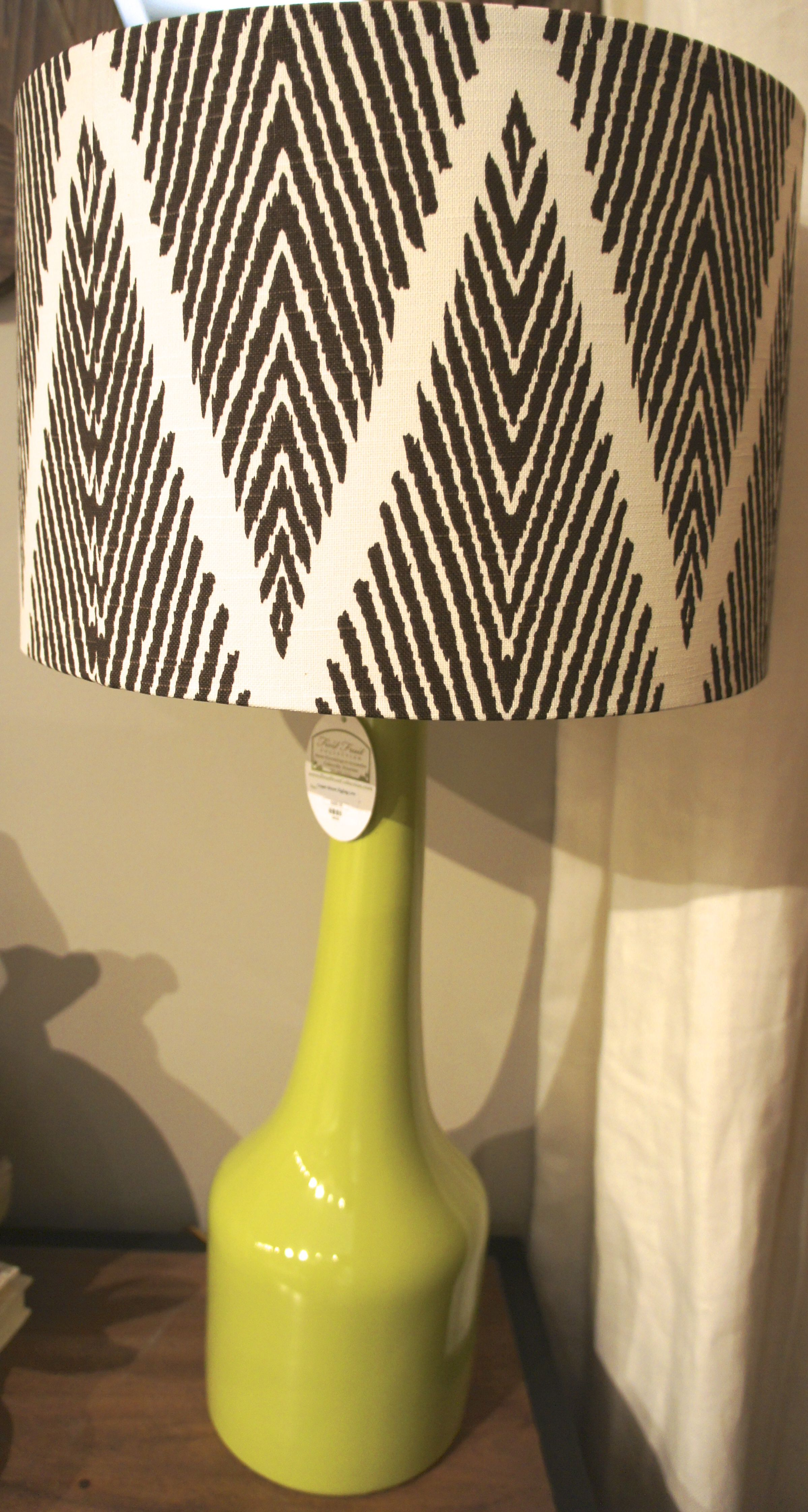Patterned Lampshades Green Lampblack Patterned Lampshade  Lighting We Love  Pinterest