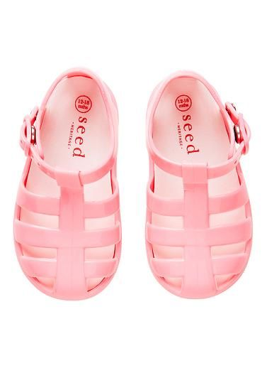 521a0ea611d Baby fisherman jelly sandals. Featuring hidden press stud buckle and super  soft PVC. 100% PVC.  mimijumi  loves!