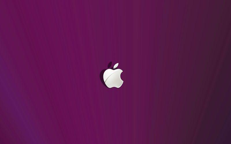 Purple apple!