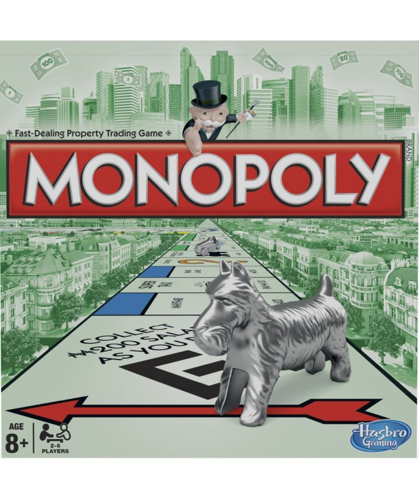 Buy Monopoly Classic Board Game From Hasbro Gaming Board Games