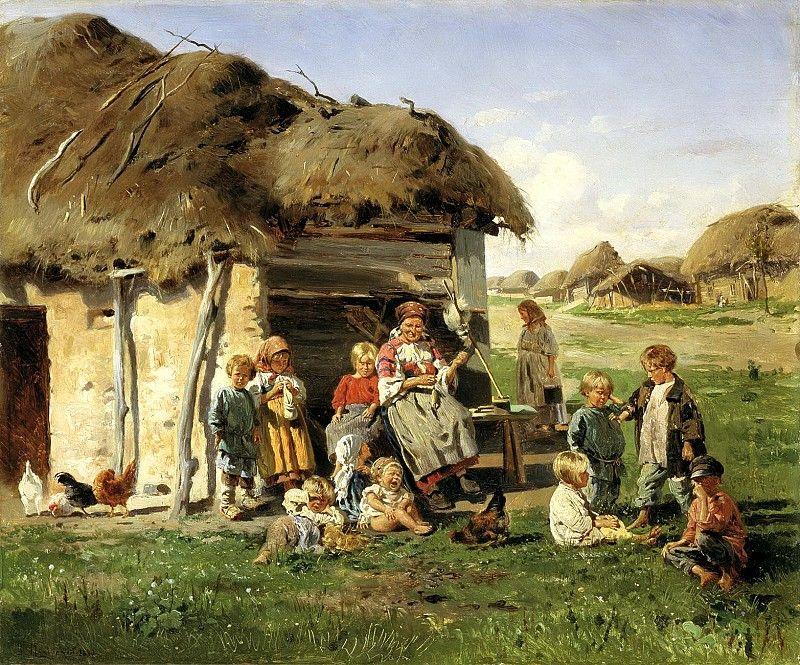 Makovsky Vladimir - Jabberwocky. 900 Classic russian paintings ...