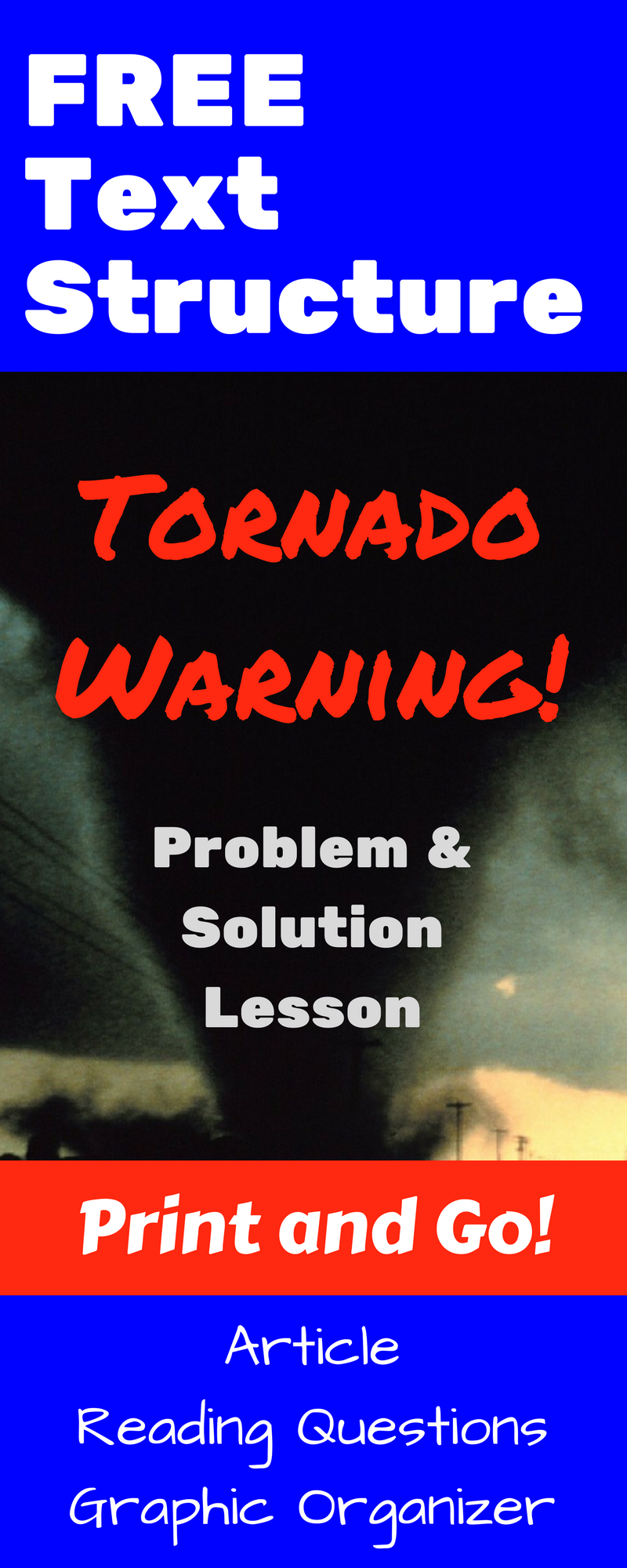 nonfiction text structure passage tornado warning spring ela tornado diagram for kids new york state elementary test prep ela 4 [ 800 x 2000 Pixel ]