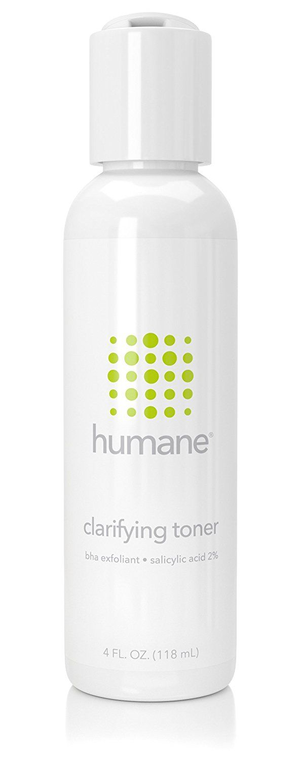 Humane Bha Clarifying Toner 4 Ounce New And Awesome Product Awaits You Read It No Benzoyl Peroxide Acne Treatment Benzoyl Peroxide Acne Facial Exfoliator