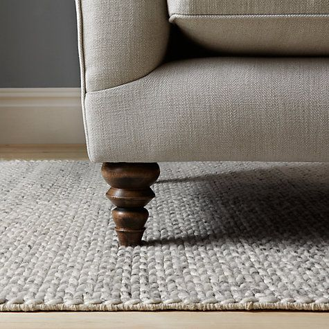 Buy John Lewis Croft Collection Snowshill Rug Grey Online