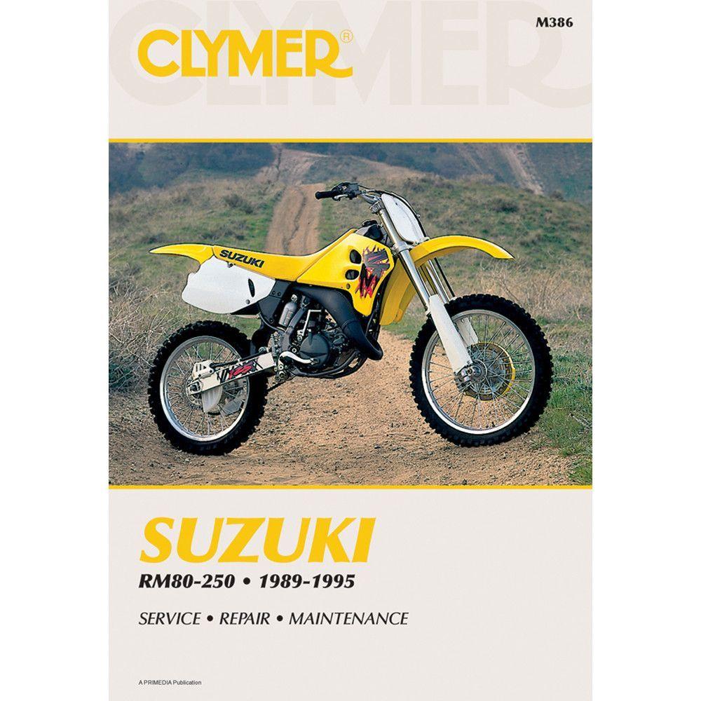 Clymer Suzuki Suzuki Manuals motorcycle maintenance, troubleshooting and  repair shop service manual.