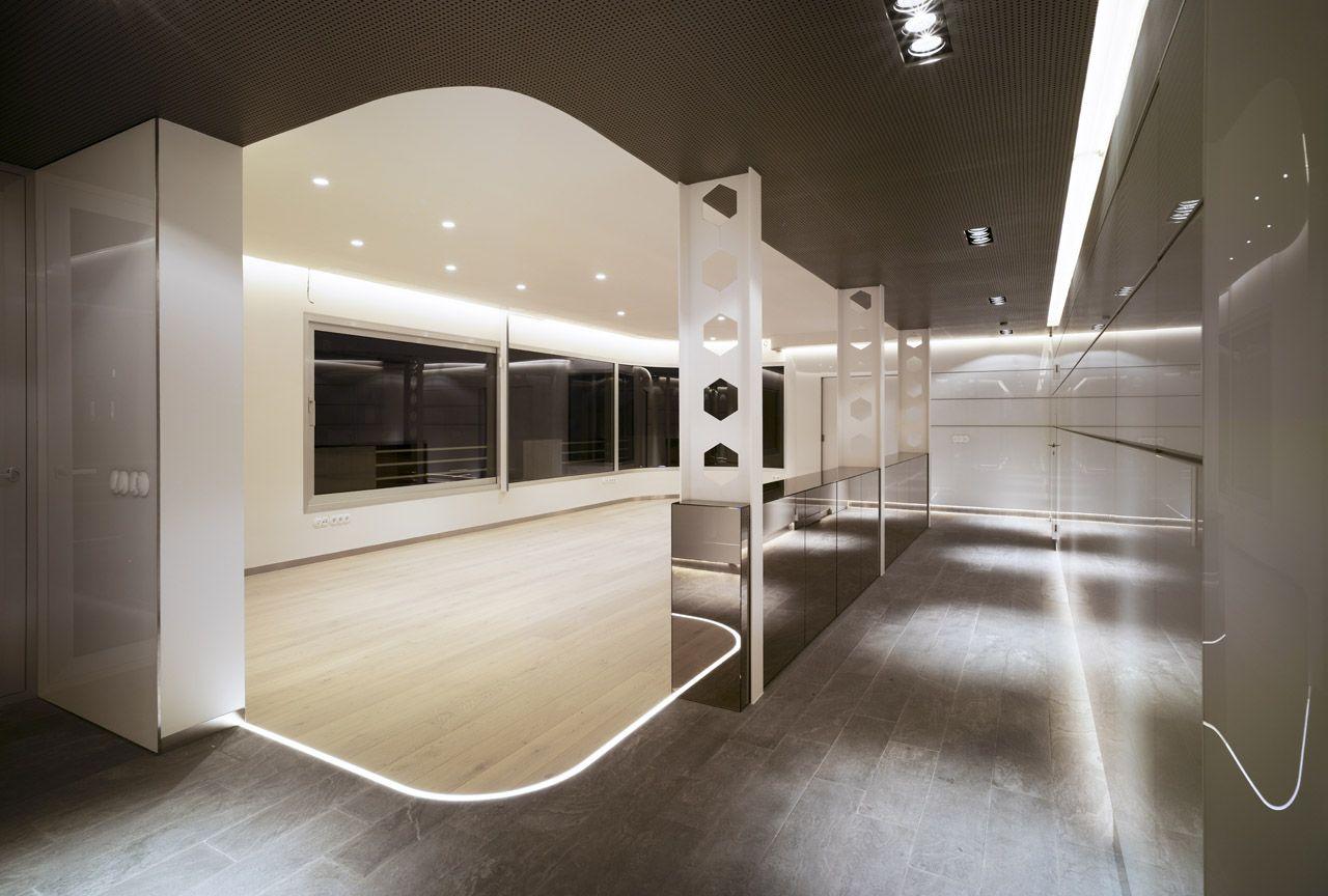 Athic Refurbishment Clavel Arquitectos Interiors Futuristic  # Muebles Fenda Murcia