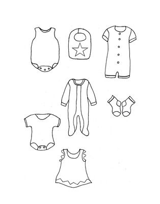 Baby Clothes Free Template Making Ideas IM Using This To Make A