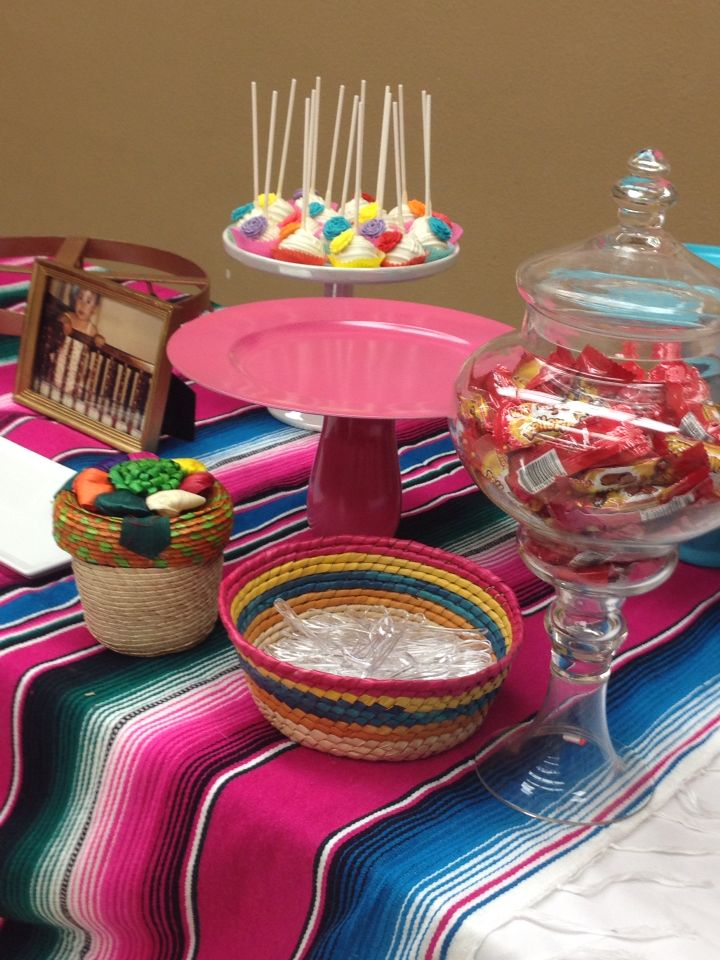Mexican Candy Table Mexican Party Mexican Candy Table
