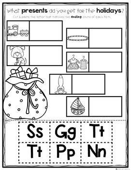 Kindergarten Winter Break or Early Finisher Journal