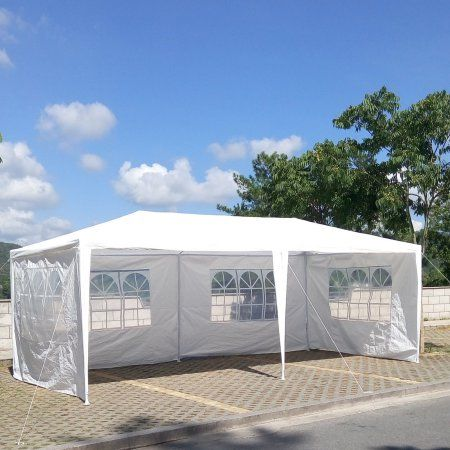 Ktaxon 10 X 20 Party Tent Outdoor Heavy Duty Gazebo Wedding Canopy W 4 Side Walls Walmart Com Backyard Canopy Canopy Tent Outdoor Tent