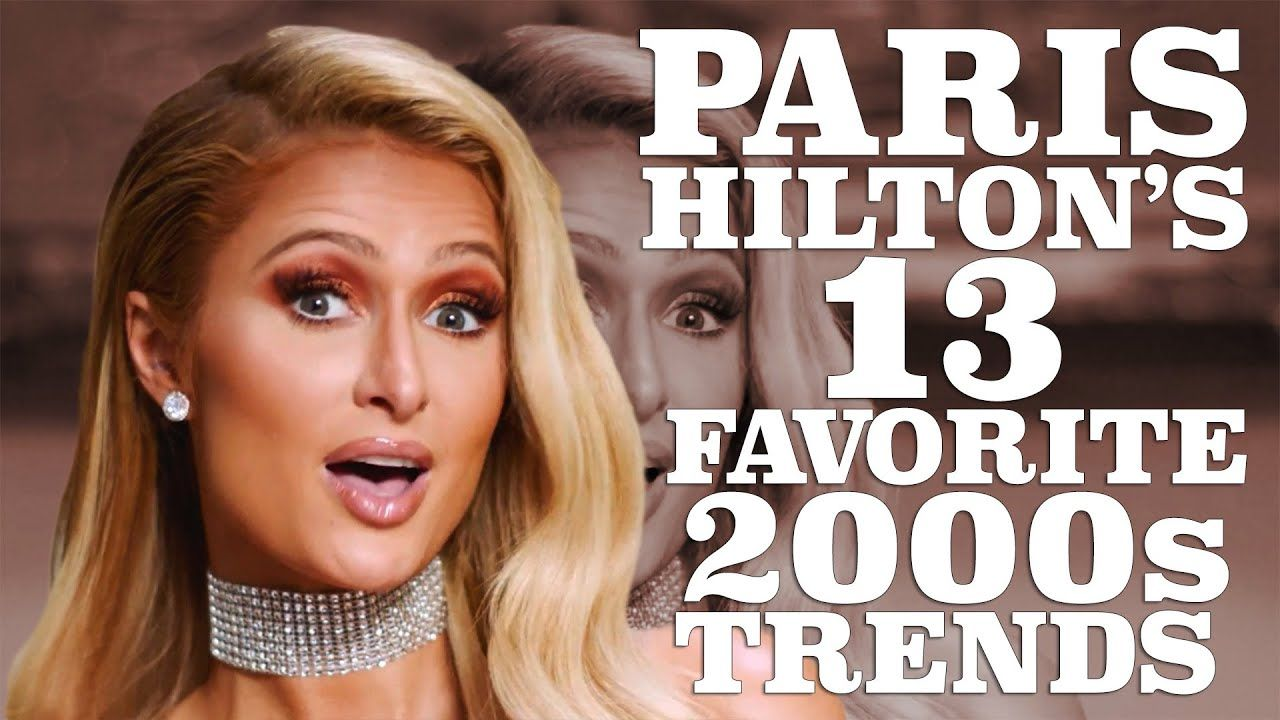 Paris hilton breaks down her favorite s trends w magazine