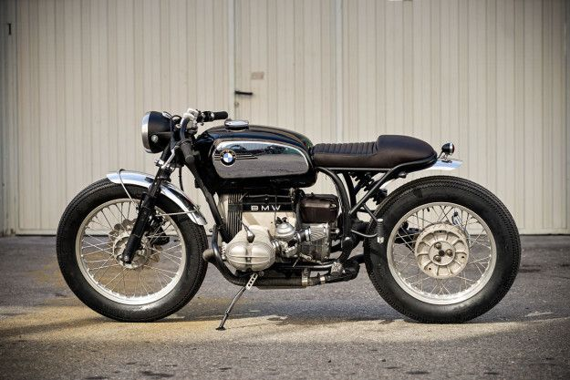 Customizing A Classic Crd S Bmw R80st With Images Classic