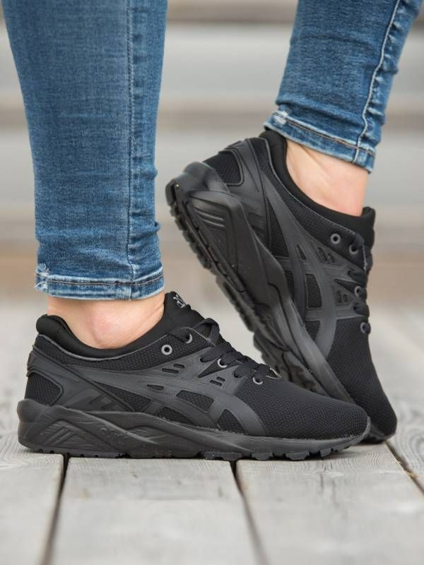 new arrival 160bc 9cb07 Asics Gel-Kayano Trainer EVO - Sort   GetInspired.no. Find this Pin and  more on Cute Kicks ...