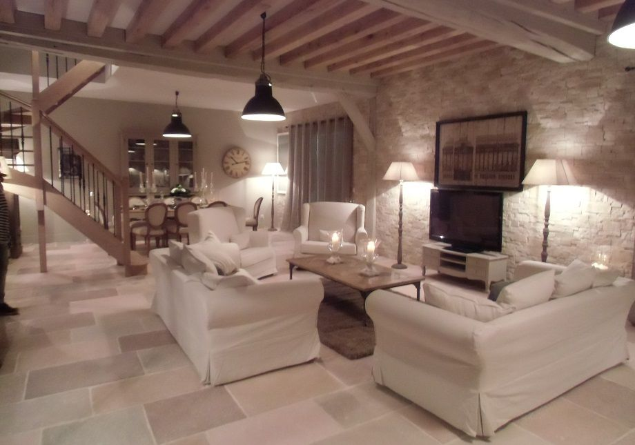 LE SALON / SALLE A MANGER Salons, Living rooms and Decoration