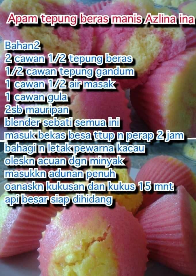 Apam Beras Manis Malaysian Dessert Recipes Food
