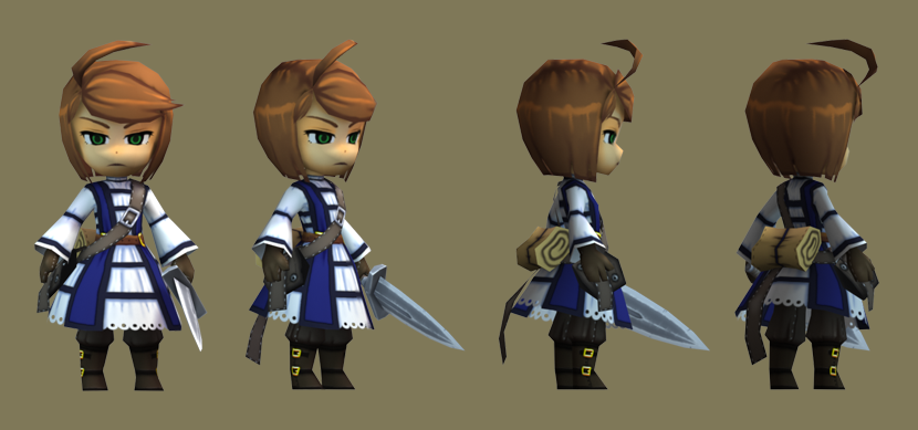 3d Game Character Design Tutorial : Low poly knight girl personajes pinterest