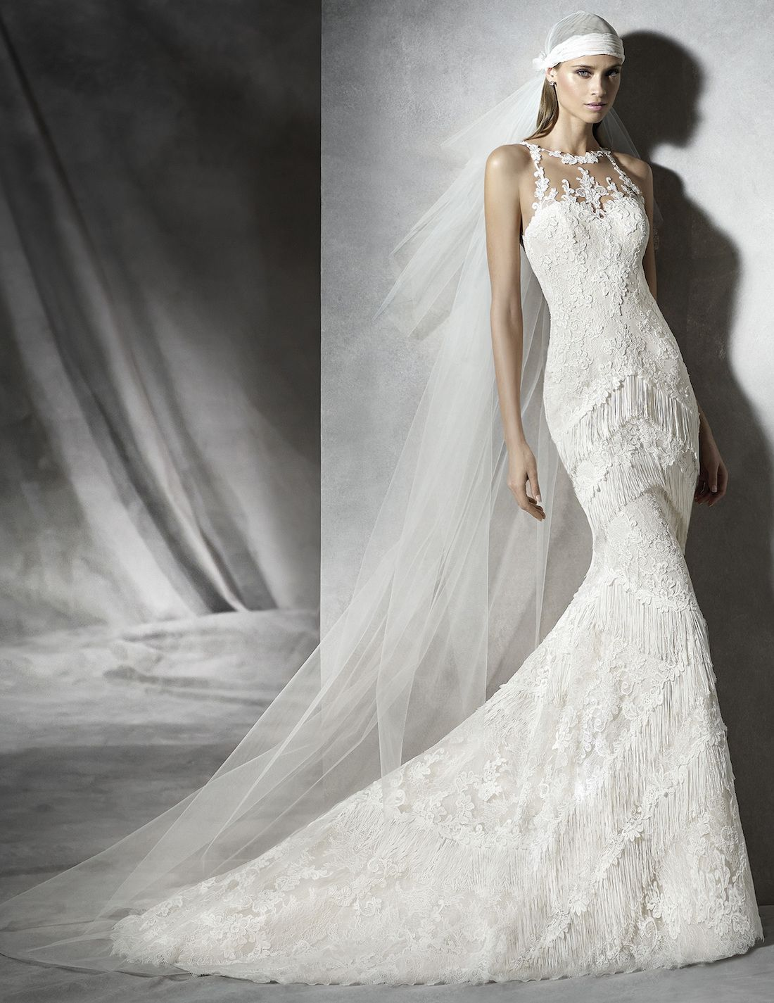 Pronovias pladia wedding gown snow white pinterest gowns