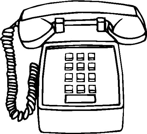 telephone phone clip art at vector clip art free 2 image