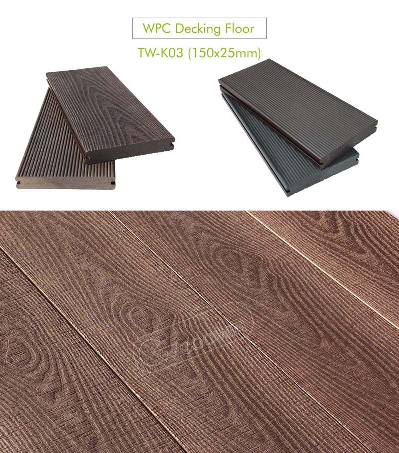 Pin On Engineered Wood Plastic Composite Decking Projects