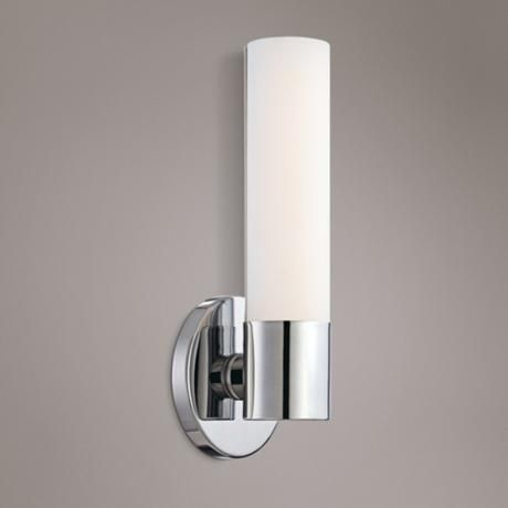 Led Wall Sconce Bathroom. George Kovacs Saber 12 High Chrome Led Wall Sconce
