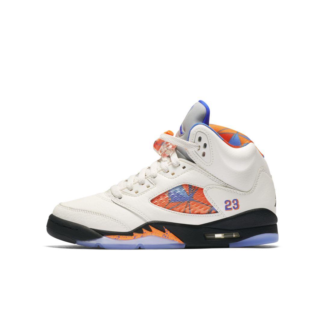 best sneakers 00b95 8221b Air Jordan 5 Retro Big Kids' Shoe Size 6Y (Sail)   Products ...