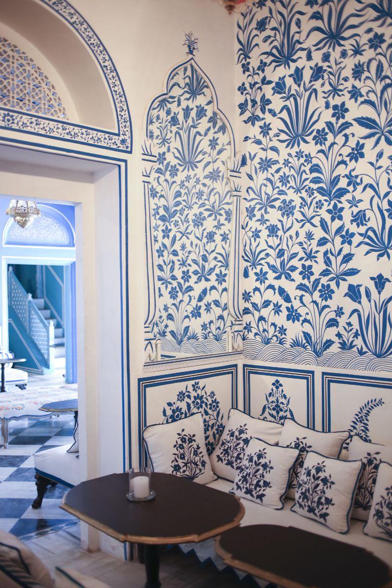 Designer Marie-Anne Oudejan's Stylish New Jaipur Bar