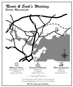 Create Driving Directions To Insert In Wedding Invitations 251x300 Funny